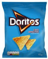 Doritos Corn Chips 32 x 40gm Cool Original